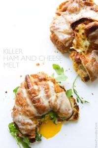 Killer Ham and Cheese Melt from Real Food by Dad