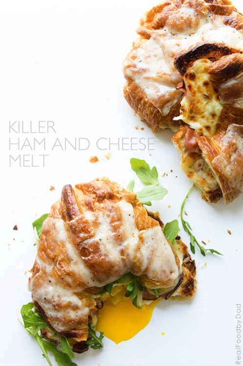 Killer Ham and Cheese Melt | Real Food by Dad