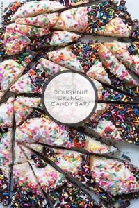 1 Doughnut Crunch Candy Bark via RealFoodbyDad