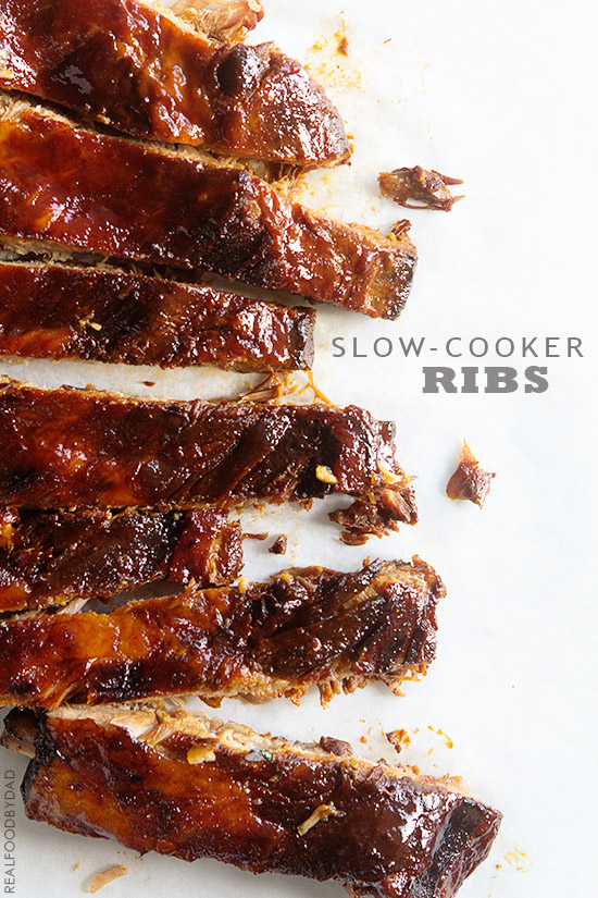 Slow-Cooker Ribs via Real Food by Dad