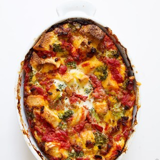 Sausage Breakfast Casserole via Real Food by Dad