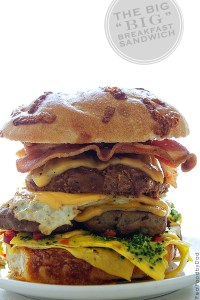 The Big Breakfast Sandwich from Real Food by Dad