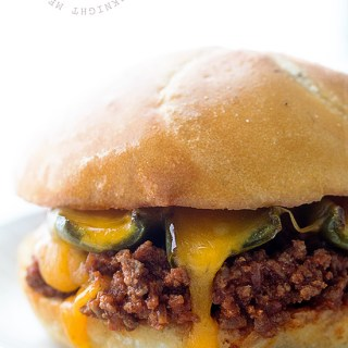 Sriracha Sloppy Joes with Roasted Jalapenos | Real Food by Dad