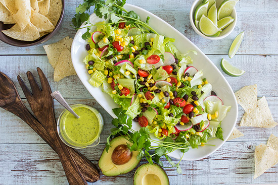 Tex Mex Salad from Real Food by Dad