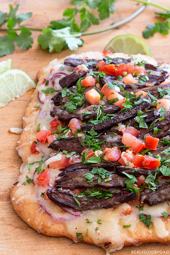 Carne Asada Pizza | Real Food by Dad