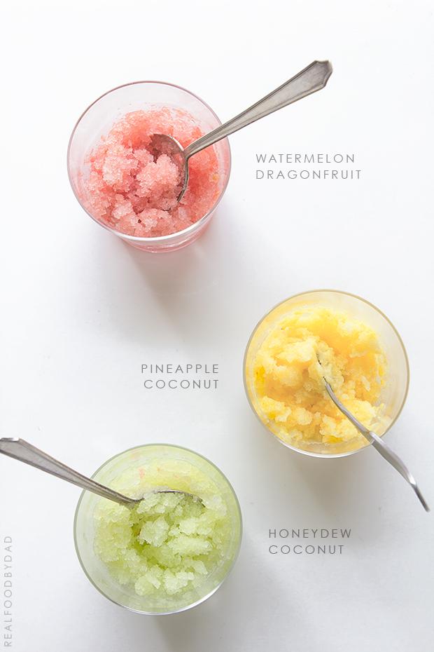 Fruity Granitas