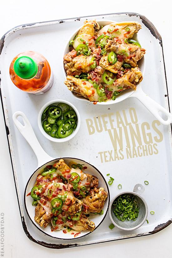Buffalo Wings Texas Nachos | REal Food by Dad