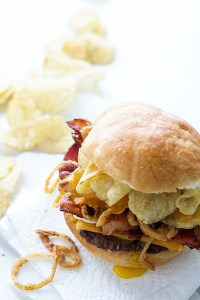 The Brunch Crunch Burger via Real Food by Dad