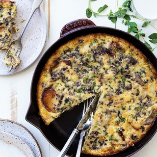Sausage and Peppers Frittata
