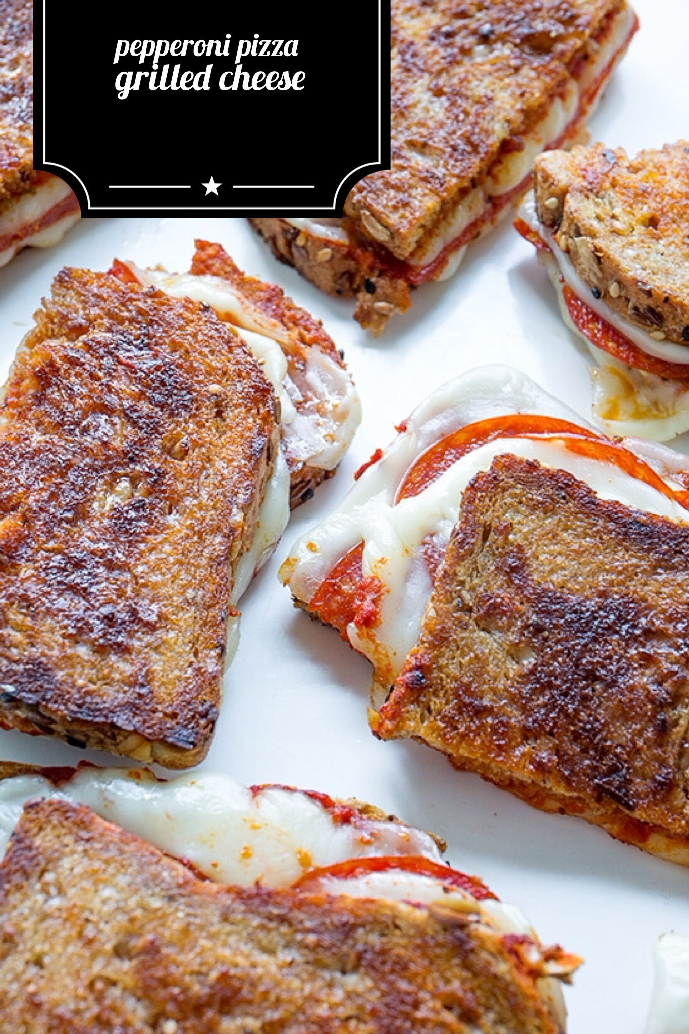 Pepperoni Grilled Cheese | Real Food by Da