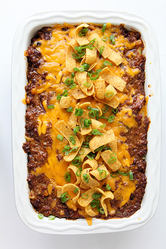 Baked Ziti Chili | Real Food by Dad