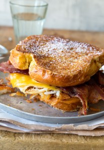 Big Breakfast Sandwich via Real Food by Dad