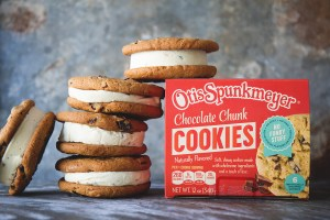 Otis Spumkmeyer Chocolate Chunk Ice Cream Sandwiches from Real Food by Dad