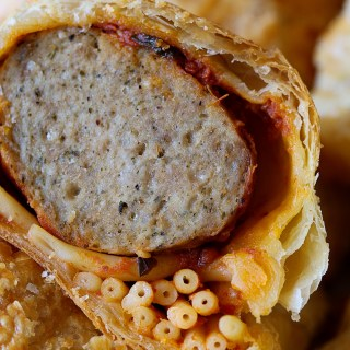 Spaghetti and Meatball Hand Pies