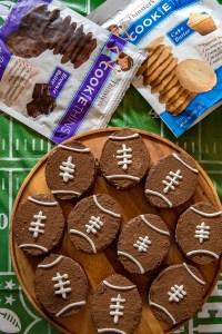 Brown Bottom Rice Krispie Football Treats 1