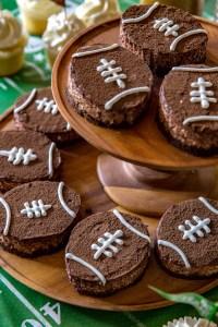 Brown Bottom Rice Krispie Football Treats - Real Food by Dad