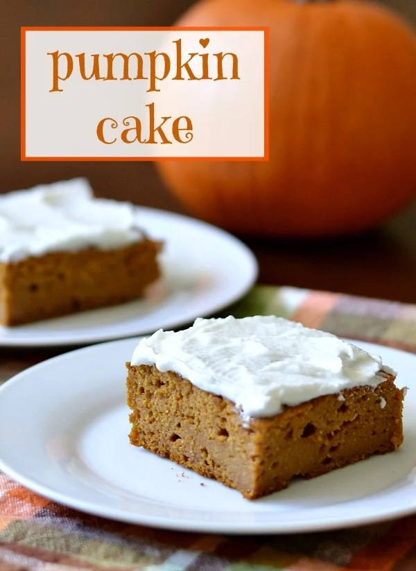 Pumpkin Cake | Real Food Real Deals