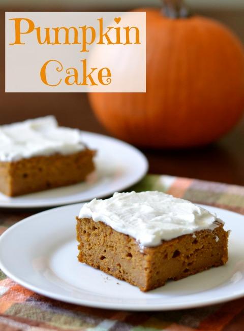 Pumpkin Cake rfrd
