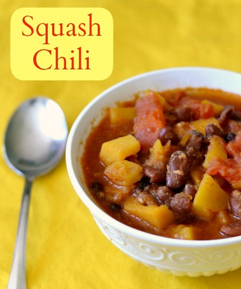 Butternut squash chili recipe, a delicious fall soup | Real Food Real Deals