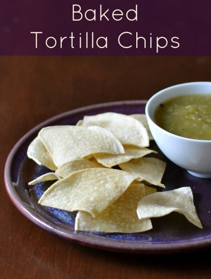 Baked Tortilla Chips Recipe — Dishmaps