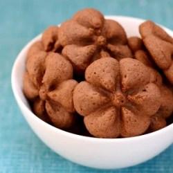 chocolate spritz cookies 300