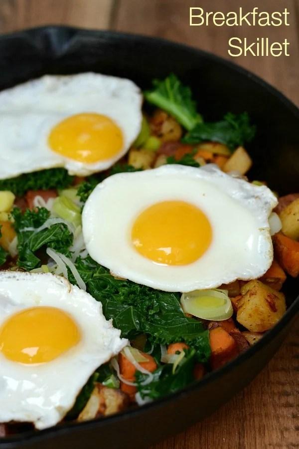 Breakfast Skillet Recipe - Real Food Real Deals