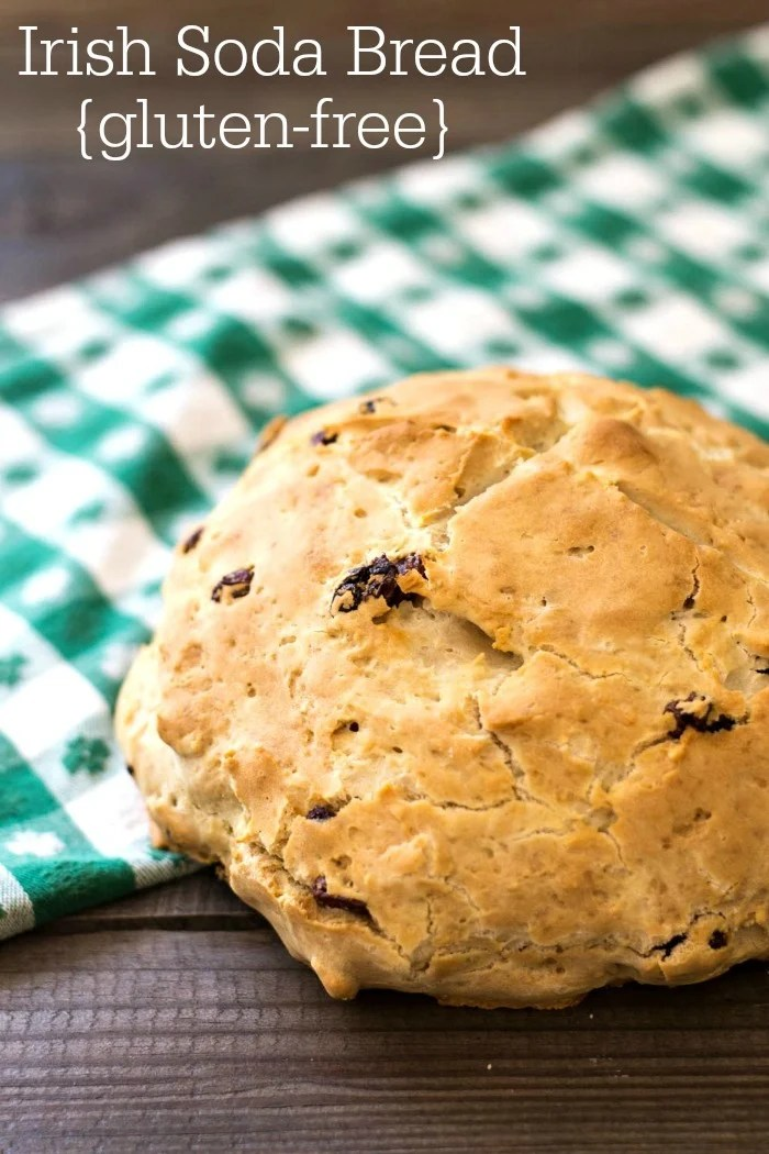 This gluten free Irish soda bread is a healthy snack or breakfast for ...