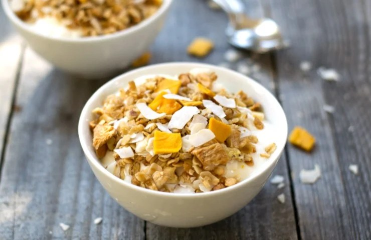 Healthy Tropical Granola Recipe