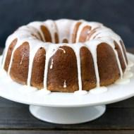 Pineapple Raisin Bundt Cake
