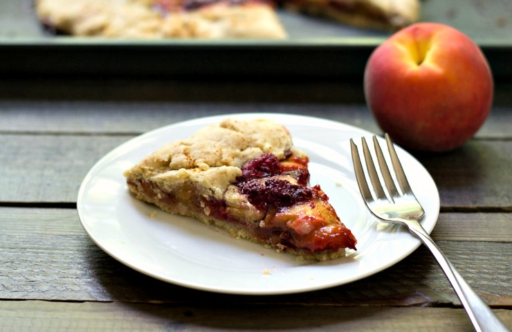 Raspberry Peach Galette Recipe