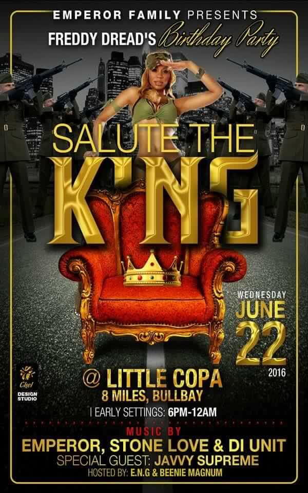 STONE LOVE AND EMPEROR AT LITTLE COPA  JUNE 2016