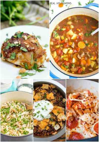 25 Easy Dinner Recipes for Busy Weeknights ⋆ Real Housemoms