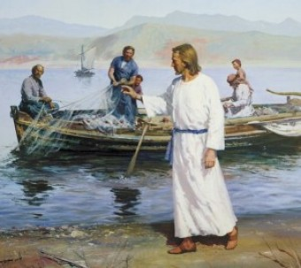 Calling the Fishermen, courtesy of LDS.org