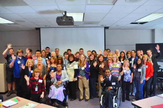 Fairfax County Public Schools Students and Teachers at Disability Mentoring Day
