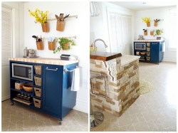 Small Of Diy Small Kitchens