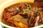 Aubergine Curry carri poisson