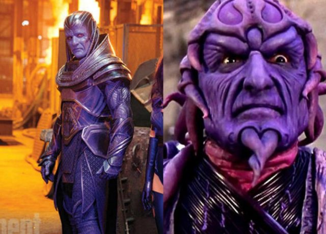 Apocalypse on the left. Ivan Ooze on the right