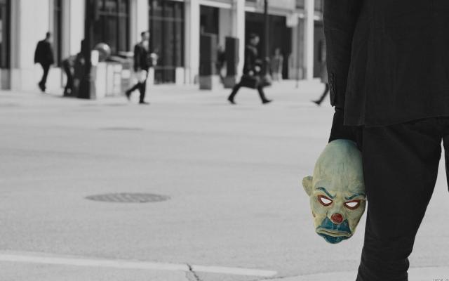 holding mask