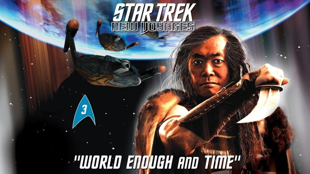 Yeah, that's actually George Takei.