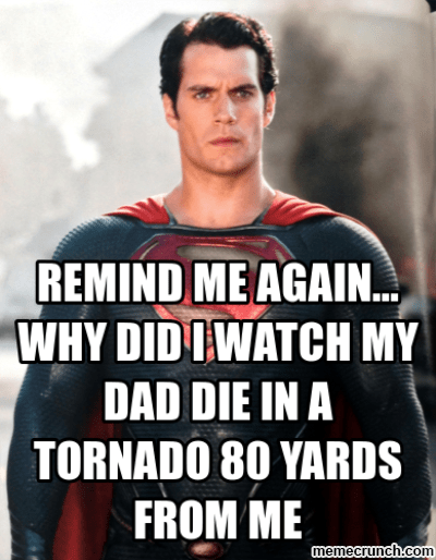 supes sad
