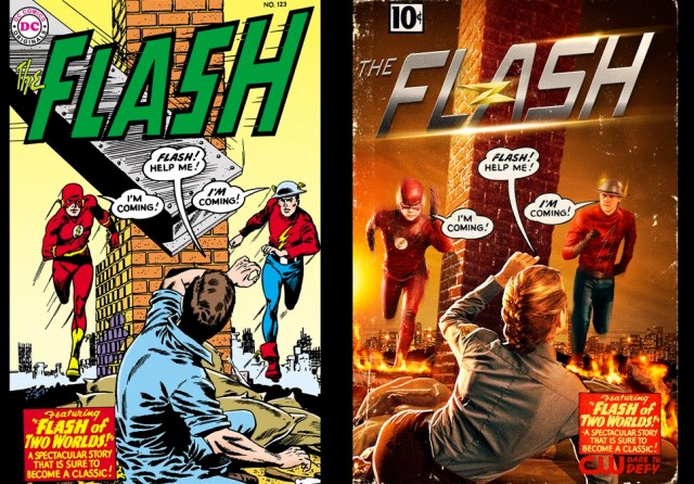 two flashes