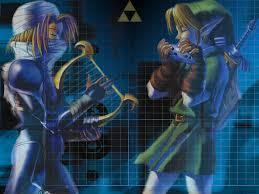 link and sheik