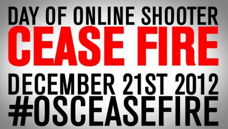 Day of Cease Fire hashtag banner
