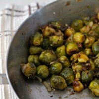 Better Than Good Roasted Brussels Sprouts