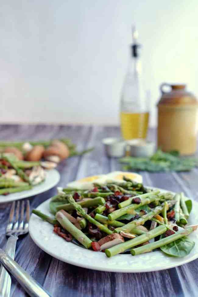 Try out our honey mustard asparagus bacon salad, and let us know how ...