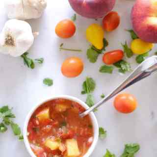 Peach Salsa Two