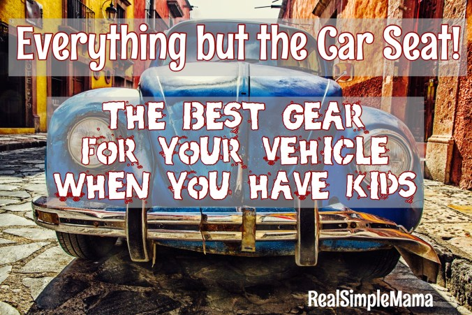 Everything But The Car Seat: The Best Gear For Your Vehicle When You Have Kids! - RealSimpleMama