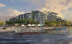Transwestern Development Co. has broken ground on VELA at Town Lake, a 290-unit luxury apartment community in Tempe, Ariz.