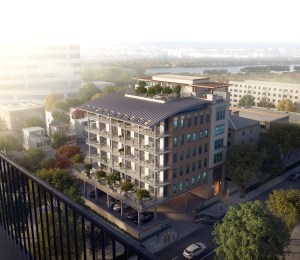 Rendering of The Monroe, a residential project under development by Al Ross near downtown Houston.