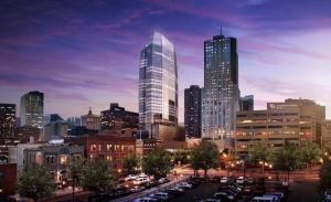 Hines has broken ground on 1144 Fifteenth tower in Denver.